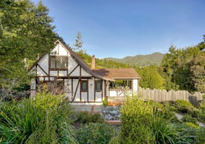 Mill Valley Tudor with Mt. Tam View